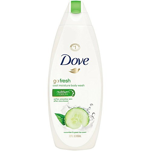 Go Fresh Cool Moisture Body Wash, Cucumber and Green Tea, 24