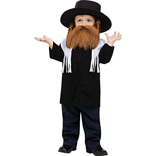 Jewish Rabbi Toddler Costumes (Jewish Rabbi Toddler Costume by Fun World Costumes)
