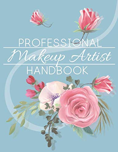 Professional makeup artist handbook: Face makeup charts: blank exercise paper for professional and beginner makeup artists.