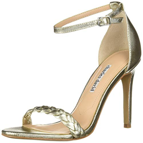 CHARLES DAVID Women's Camomile Pump Soft Gold 6 M US Charles High Heel Pumps