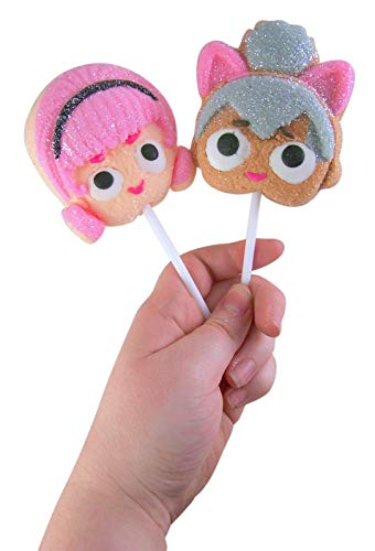 LOL Suprise Character Candy Marshmallow Pops, 1.41oz (Pack of 2)