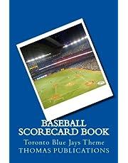 Baseball Scorecard Book: Toronto Blue Jays Theme