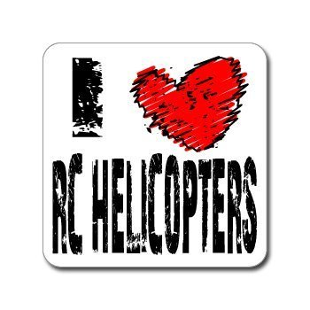 Lancy's Artwork I Love Heart RC Helicopters - 22