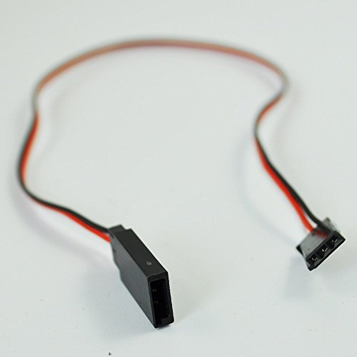 Leegoal 10pcs 320mm Servo Extension