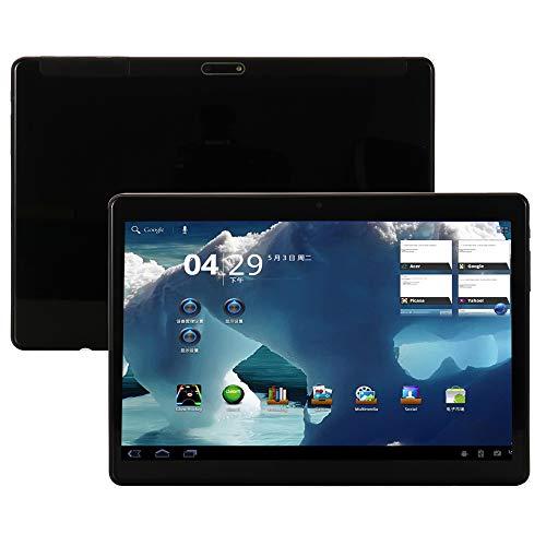 4G LTE Phablet 10.1 Inch Tablet Android 9.0,Octa Core Processor,1920x1200 HD IPS,4GB RAM 64GB ROM,Dual Sim Dual Camera,WiFi GPS OTG,Tablets PC Google Play (Black)