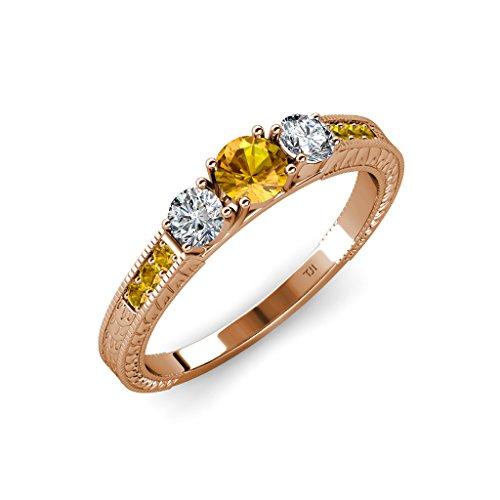 Gold 0.80 Ct Tw Diamond - 4