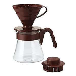 V60 Coffee Server Set Chocolate