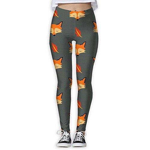 Fox Sweatpants (XDDFRTFF Women's Tights Long Workout Legging Yoga Pant Fox Leggings)