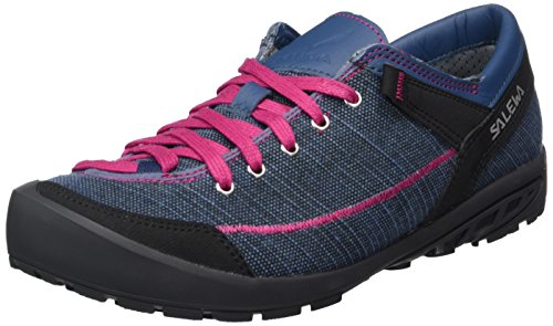 Scarpe Fuchsia Washed SALEWA Denim Donna Blu Road Stringate Alpine 7xqOE