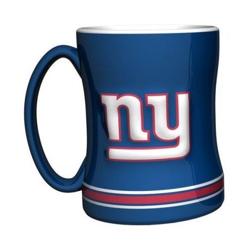 2015 NFL Football Coffee Mug - 14 ounce Ceramic Coffee Cup (Giants)