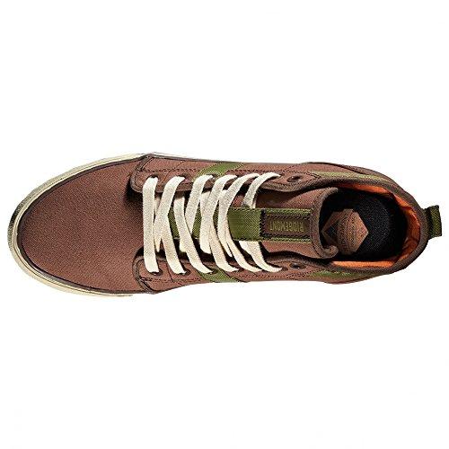Ridgemont Crest Hi Waxed Boots Brown/Olive Z88VzIVs