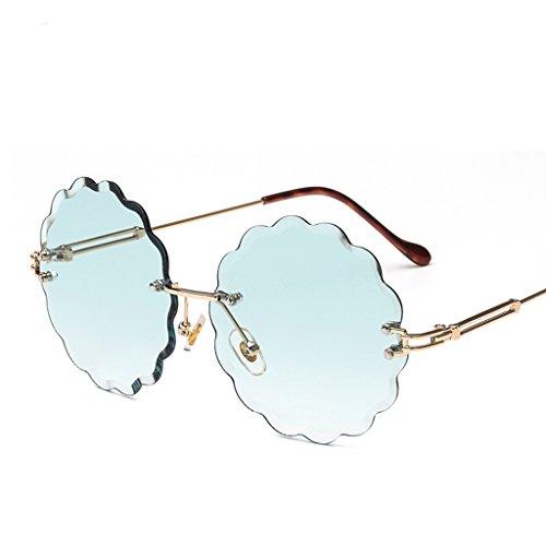 De Marco Gafas Sol De Gafas De De HAIHAI Moda Sin 2 Sol Gafas Sol 5 wFdZZqY