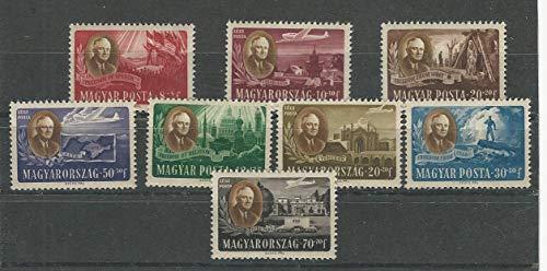 Hungary, Postage Stamp, B198A-D, CB1-CB2 Mint Hinged, 1947, JFZ