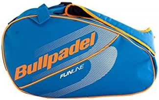 Bull padel PALETERO BULLPADEL BPP-18004 Azul Naranja: Amazon.es ...