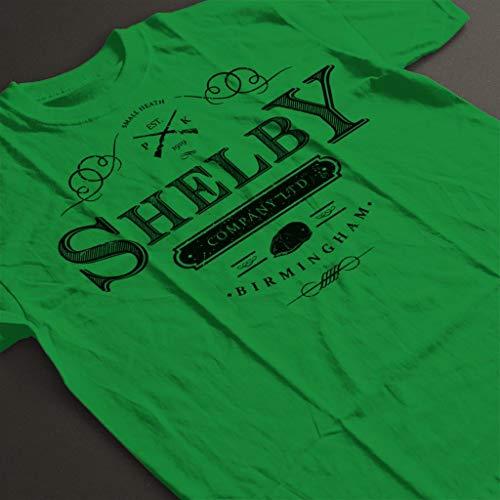 T City Shelby Kelly Women's shirt Ltd 7 Blinders Cloud Peaky Company Green Logo zgRdzx4f