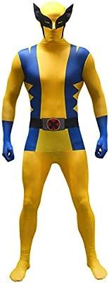 Morphsuits - Disfraz Wolverine, Multicolor (basic), talla XL (176cm-185cm)