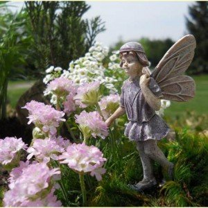 Merveilleux Miniature Fairy Statues Figurines   Fairy Garden Miniature Decoration  Accessories Village Pieces (Forrest)