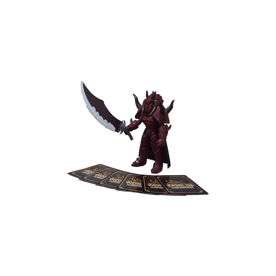 Adventure Quest Worlds Action Figure Sepulchure The Doom Knight