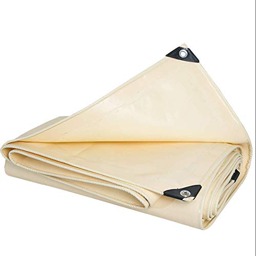 ZXWCYJ Heavy Duty Tarp, Water, Mold & UV Resistant, Rustproof Grommets, Reinforced Edges & Reflective Tape for Industrial & Commercial - Heavy Tape Duty 88 Vinyl