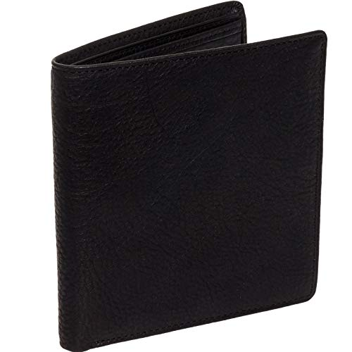 Osgoode Marley Men's Leather RFID Hipster Wallet (Black) ()