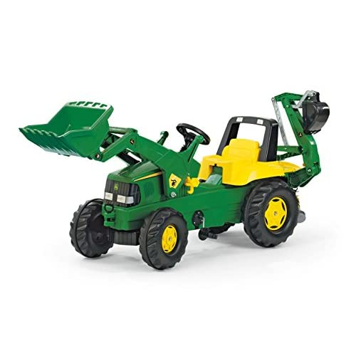 80%OFF rolly toys John Deere Pedal Tractor with Working
