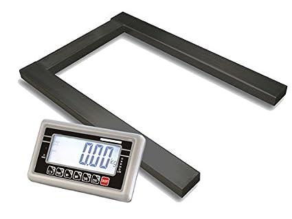 Báscula WKA PB-1500 druckluftzubehör Max 1500 kg - división 500 G suelo báscula de