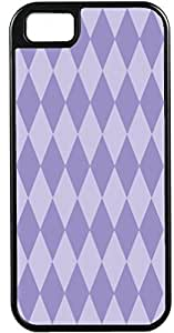 Case For Sumsung Galaxy S4 I9500 Cover Customized Gifts Cover Diamond Pattern Design Light Purple and LavendIdeal Gift