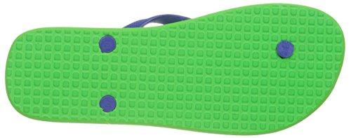 DC Herren Spray Sandale Lime Green / olympisches Blau