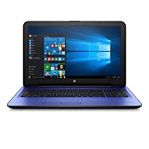 HP Premium High Performance 15.6 Inch Business Laptop AMD A10-9600P APU Quad-Core Processor 8GB Memory 1TB Hard Drive HD Webcam DVD HDMI Webcam 802.11ac Bluetooth Window 10- Blue