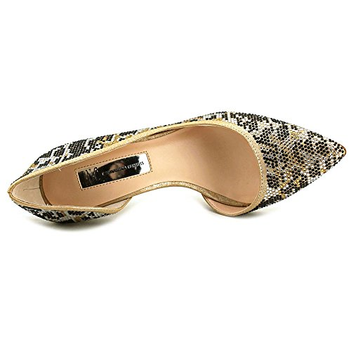 Crystal Concepts Pumps Pointed 3 INC Kenjay Gold Leopard International wvXRRxAU