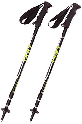LEKI Unisex Trekkingstock Voyager, black, 65-145 cm