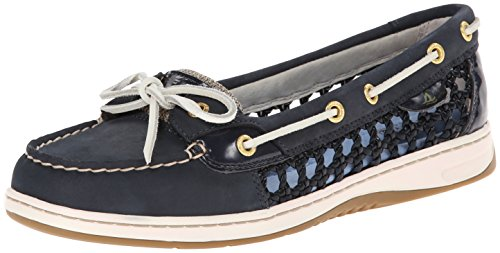Sperry Women's Angelfish Caning, Navy, 6 M US (Six Of The Best Caning)