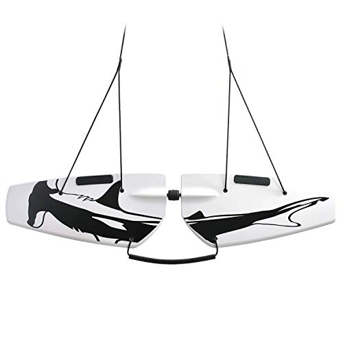 Subwing - Fly Under Water - Towable Watersports Board for Boats - 1, 2, 3, 4 Person Tow - Alternative Pull Behind to Water Skiing, Flying Tubes & Tube Floats - Best Boat Accessories