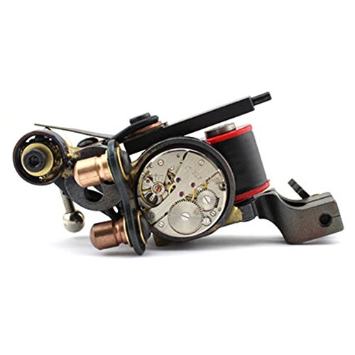 Tattoo Machine,New Star Tattoo One Professional Coil Custom Handmade Tattoo Machine Gun Kit - Tattoo Gun Handmade