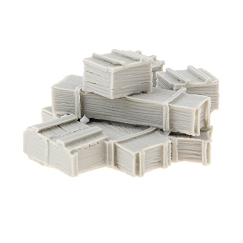 Homyl 1/35 Scale WWII Army Cargo Equipment Crates(8) Mini Resin Figure Unpainted