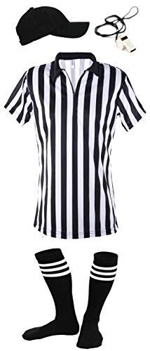 Mato & Hash Women's 1/4 Zip-Up Quarter-Zip Referee