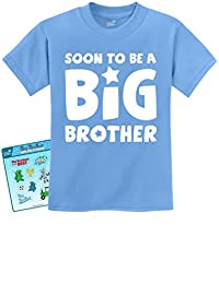 Soon To Be A BIG BROTHER - New Sibling Baby Boy/Girl Announcement T-shirt