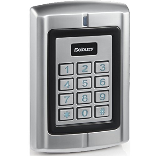 UHPPOTE Metal Waterproof Access Control Keypad RFID Reader With Wiegand 26-37 Interface For 125KHz HID ()