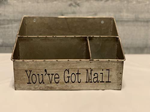 You've Got Mail Galvanized Organizer