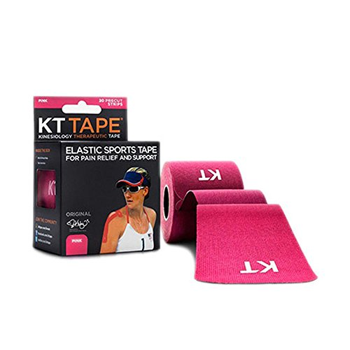 KT Tape Original Cotton Elastic Kinesiology Therapeutic Sports Tape, 20 Pre cut 10 inch Strips, Breathable, Pro & Olympic Choice – DiZiSports Store