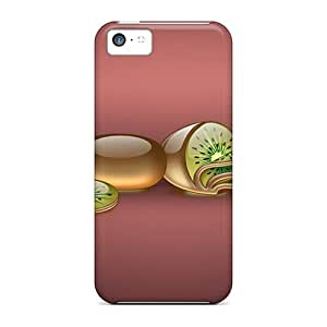 Flexible Tpu Back Cases Covers For Iphone 5c - Abstract 3d