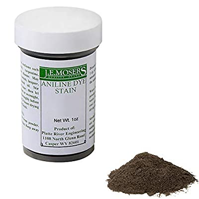 J.E. Moser's 844092, Finishes, Wood Stains & Dyes, Water Soluble Dark Fumed Oak Aniline Dye