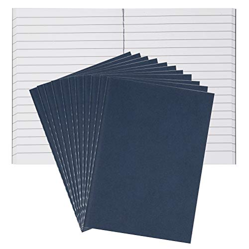 - Field Notebook Bulk - 12-Pack Lined Pocket Notebook, Memo Book for Note Taking, Mini Notebooks, Soft Cover, 88 Pages, Navy Blue, 3.5 x 4.9 Inches (Navy blue)