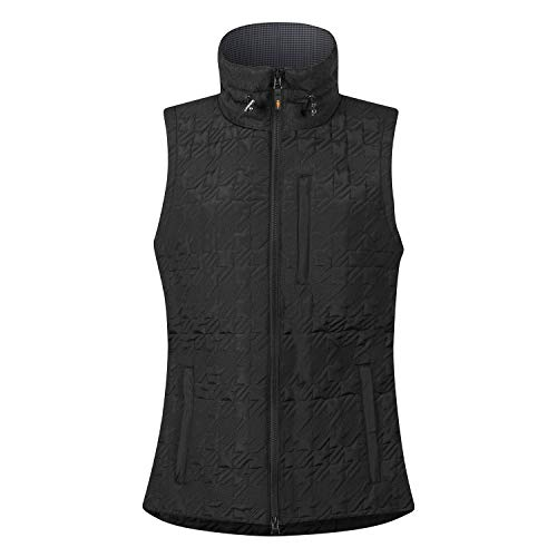 (Kerrits Quilted Ht Riding Vest Black Size: Medium)