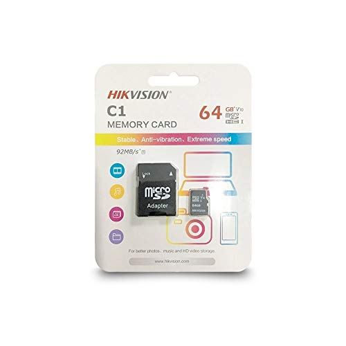 HIKVISION C1 Memory Card 64  GB Class 10