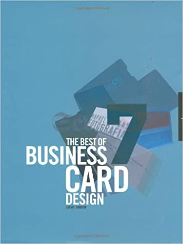 The best of business card design 7 no 7 loewy 9781592532209 the best of business card design 7 no 7 loewy 9781592532209 amazon books reheart Choice Image