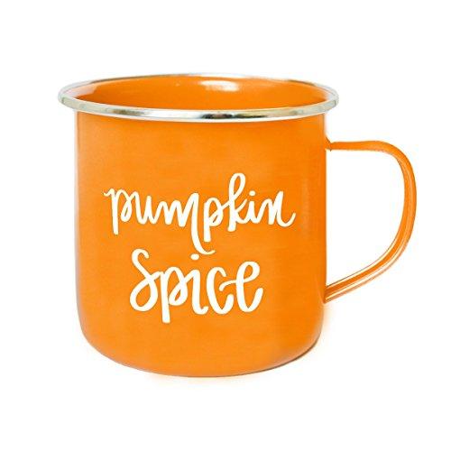 Pumpkin Spice Campfire Coffee Mug, Coffee Mugs, Autumn Mug, Fall Mug, Hand Lettered Mug, Pumpkin Spice Latte, Orange Mug, PSL, Pumpkin Spice