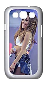 2015 popular Ariana Grande Case for Samsung Galaxy S3 I9300,Ariana Grande is so Beautiful phone Case for Samsung Galaxy S3 I9300.