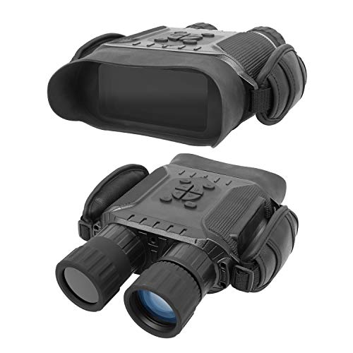 "Bestguarder NV-900 4.5X40mm Digital Night Vision Binocular with Time Lapse Function Takes HD Image & 720p Video with 4"" LCD Widescreen from 400m/1300ft in The Dark W/ 32G Memory Card - Net Media Low Light"