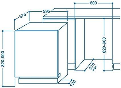 Indesit DIF 04B1 Totalmente integrado 13cubiertos A+ lavavajilla ...